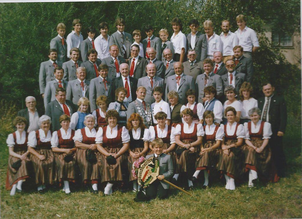 Vereinsfoto 1982